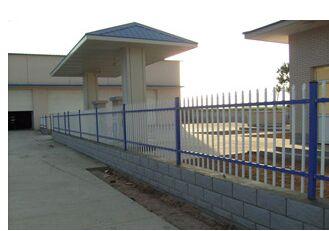 厂区铁艺护栏